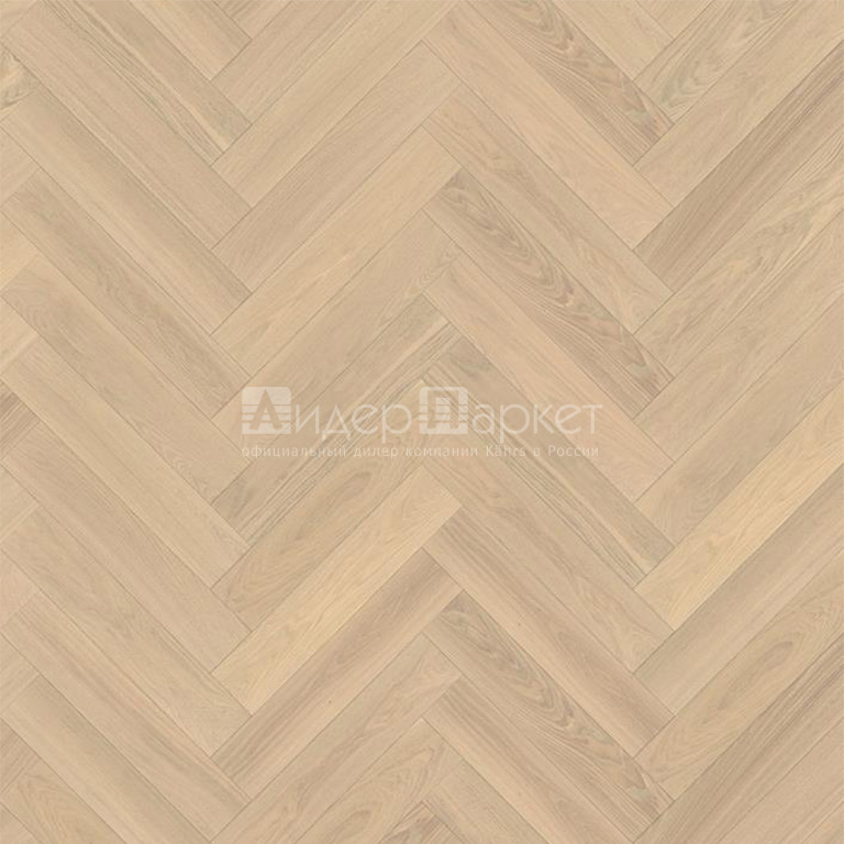 Дуб AB Белое масло Черс (Kahrs Oak AB White)